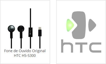 Fone de Ouvido HTC