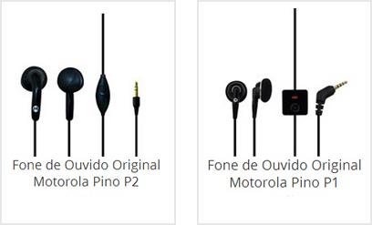 Fone de Ouvido Motorola