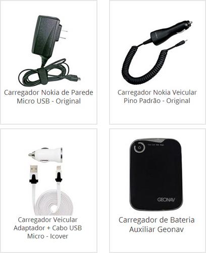 Carregador Nokia de Parede
