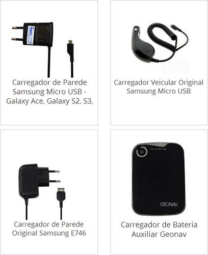 Carregador Veicular Samsung