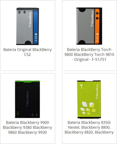 Bateria Blackberry